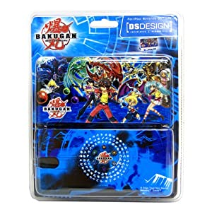 Bakugan Blue Nintendo DS Case