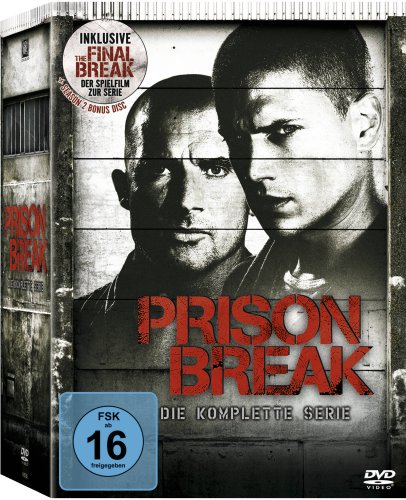 Prison Break - Die komplette Serie (inkl. The Final Break) [24 DVDs]