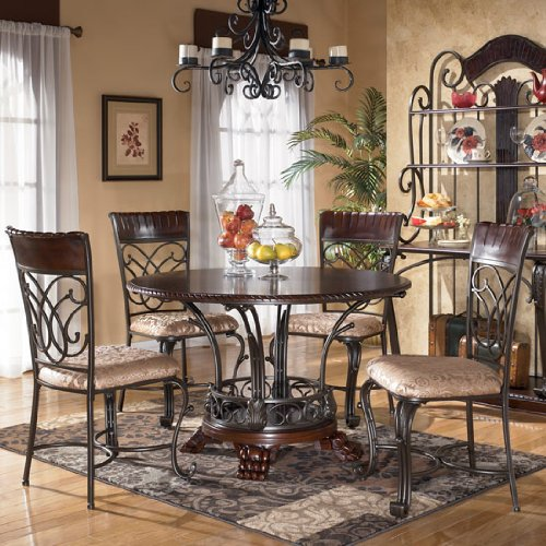 Alyssa Casual Dining Room Set by Ashley Furniture