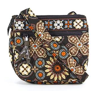 Vera Bradley Little Flap Hipster in Canyon: Handbags: Amazon.com