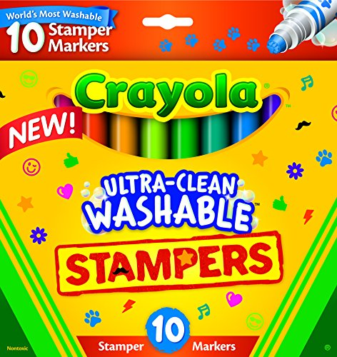 crayola-ultra-clean-stamper-markers-art-tools-10-ct-markers-bright-bold-washable-colors-emoticons