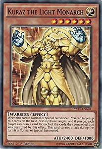 Englische Yu-Gi-Oh Karte Kuraz the Light Monarch YS14-ENA03 common