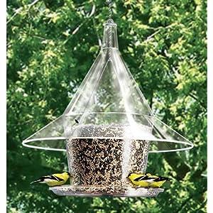 Arundale Mandarin Sky Café Bird Feeder, Squirrel-proof, Large