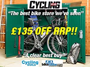 Bike Store, Cycle Storage 6 x 3 (supplied flat pack) Secure Bike Shed from Asgard - 'Addition'