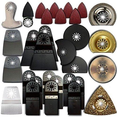 ZFE-105-tlg-Multifunktionswerkzeug-Multitool-Zubehor-pass-fur-Worx-Rockwell-Fein-Bosch-Ryobi-Dremel-Makita-Multimaster-Multifunction-Tools