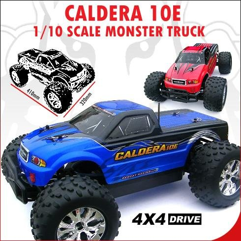 Caldera RC Car 1/10 Scale electric