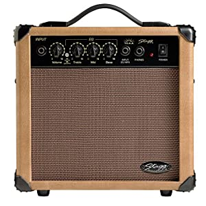 Stagg 10 AA UK 10W Acoustic Guitar Amplifier