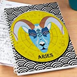Notebook For Aries- Notepad 1, notepad for zodiac signs, sun sign notepads, gift ideas for aries, gifts for aries, gifts for aries boys, gifts for aries girls, free shipping, free gift wrap, Zodiac Gifts, Aries Gift Collection, Aries Gift Ideas-GIFTS6796