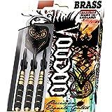 19g Harrows Voodoo Brass Darts Set