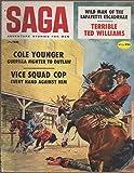 img - for Saga: Adventure Stories for Men, vol. 18, no. 3 (June 1959) book / textbook / text book