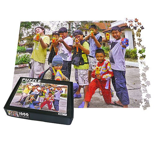 PuzzlePerfect - Large 1000 piece Personalized Photo Jigsaw Puzzle, 20x28in (1000 Piece Personal Photo Puzzle compare prices)