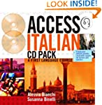Access Italian: CD and Transcript Pac...