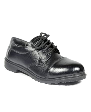 JK PORT BLACK SAFETY SHOE available at Amazon for Rs.507