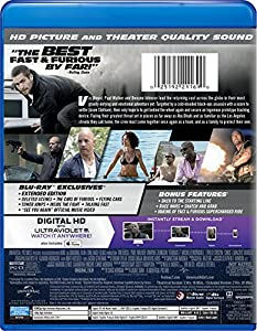 Furious 7 (Blu-ray + DVD + DIGITAL HD with UltraViolet) from Universal Studios
