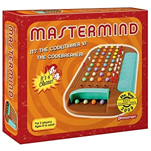 Pressman Toy Retro Mastermind Game