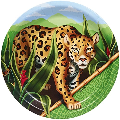 Jungle Party Supplies - Dinner Plates (8)