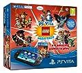 Playstation Vita Console WiFi + 8GB Mem + LEGO Mega Pack /Vita