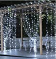 Sales Promotion Window Curtain Icicle Lights String Fairy Light for Wedding and Christmas decoration