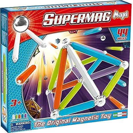Mgm - 950115 - Jeu De Construction - Supermag Maxi Fluo 44