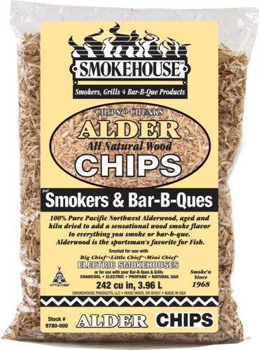 Smokehouse Products Alder Flavored Chips, 12 Pack