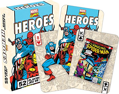 Marvel Heroes Retro Playing Cards - 1