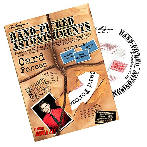 MMS Hand-Picked Astonishments DVD (Card Forces) by Paul Harris and Joshua Jay - 1