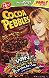 Post Cocoa Pebbles Cereal Family Size 15 oz