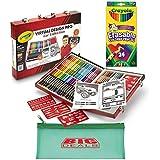 Crayola Virtual Design Pro-cars Set, Let Your Child Create His Own Vehicle with Bonus 24 Erasable Pencils and Big Deals Pencil Case