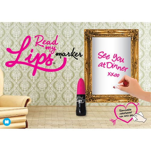 Read My Lips Mirror Marker
