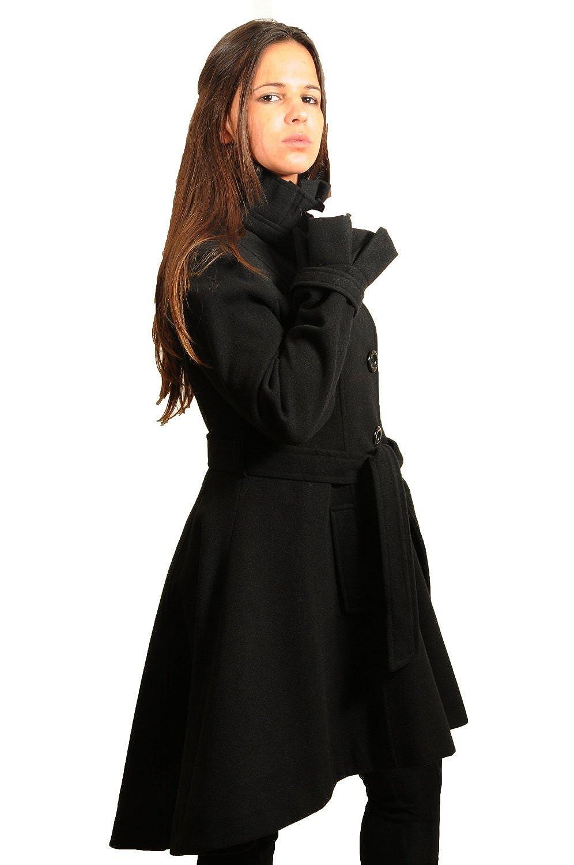 manteau femme cintr. Black Bedroom Furniture Sets. Home Design Ideas