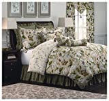 Williamsburg Garden Images 4-Piece King Comforter Set