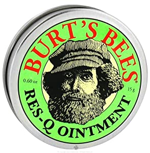 Burt's Bees Res-Q Ointment, .6-Ounces  (Pack of 3)