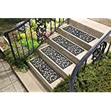 Collections Etc Butterfly Stair Traction Treads - Set of 4