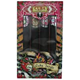 Cuba Jungle Collection 4-Piece Perfume Variety Gift Set - Includes Cuba Snake, Cuba Tiger, Cuba Zebra, and Cuba Heartbreaker - 1.17 Oz Perfume (EDP) Each (Tamaño: 1.17 oz)