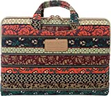 Kinmac New Bohemian Laptop Briefcase 15 Inch/ 16 Inch Laptop Case for Macbook Pro 15 / Dell / Hp /Lenovo/sony/ Toshiba / Ausa / Acer /Samsun Ultrabook Laptop Sleeve 15.6 Inch/15.4 Inch Laptop Bag