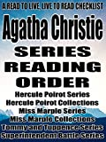 Agatha Christie: Series Reading Order: A Read to Live, Live to Read Checklist [Hercule Poirot Series Hercule Poirot Collections Miss Marple Series Miss Marple Collections Tommy and Tuppence Series]
