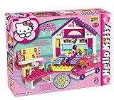 Big 57026 - Hello Kitty Bricks - Big School Play-Set - 89 pieces - Bloxx - Unico