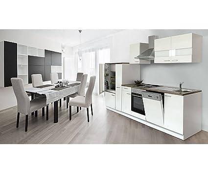 respekta de cocina vacíos de bloque vacío Bloque 310cm Cuerpo & frontal blanco