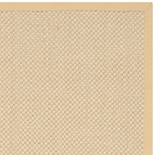 Safavieh Natural Fiber Collection NF443A Handmade Maize and Wheat Sisal Area Rug, 2 feet 6 inches by 4 feet (2'6