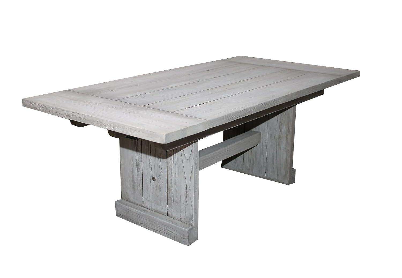 Gartenmöbel Strandgut Teak Tisch 120x60x45 cm günstig kaufen