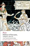 Image of Defence of Socrates, Euthyphro, Crito (Oxford World's Classics)