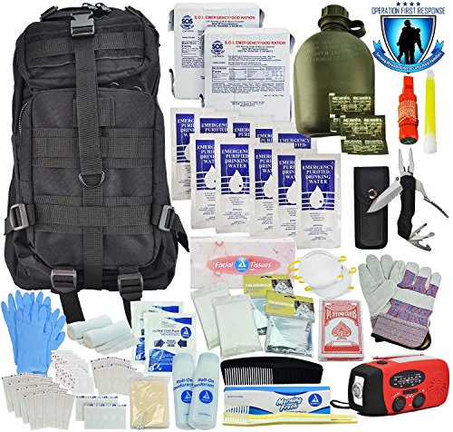 Tactical 365 Operation First Response Stage Two 3 Day Bug Out Survival Bag (Stage Two Kit)
