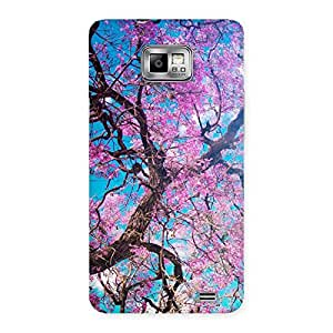 Cherry Blossoms Back Case Cover for Galaxy S2