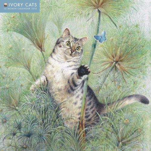 Ivory Cats Wall Calendar 2015 (Art Calendar) (Falme Tree Calendars 2015)
