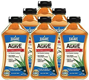 Xagave Premium Blend Organic Agave Nectar, 23.5-Ounce/500ml (Pack of 6)