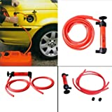 YCDTMY Car Multi Use Water Oil Fuel Pump Transfer Liquid Pipe Siphon Tool Pump Kit