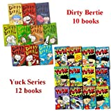 Matthew Morgan Dirty Bertie & Yuck Series 22 Books Collection Set (10 Dirty Bertie and 12 Yuck Series Box Pack)