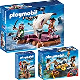 PLAYMOBIL® Piraten 3-tlg. Set 6682 Piratenfloß