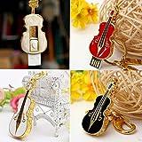 MECO 16G GO GB CLE USB 2.0 Mod�le Cartoon violon cristal Flash M�moire Stick noir