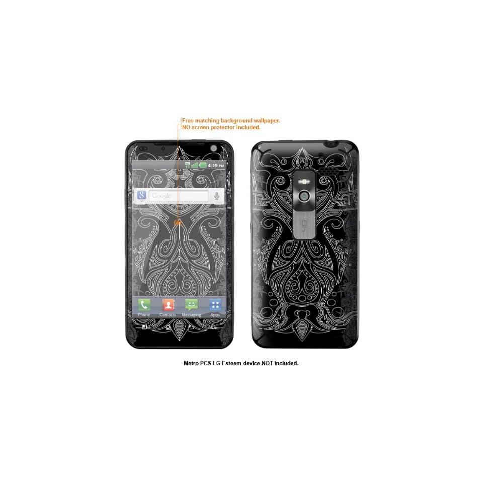 Protective Decal Skin Sticker for Metro PCS LG Esteem 4G case cover Esteem 240